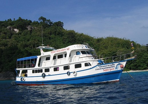 MV Dolphin Queen Similan Liveaboard